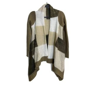 Wow Couture MOHAIR Patchwork Cardigan Sweater